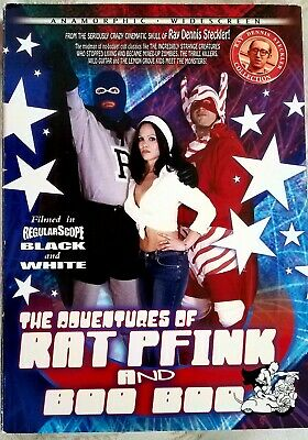 The Adventures of RAT PFINK and BOO BOO DVD Ray Dennis Steckler MST3K related