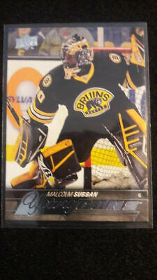 2015-16 UD Young Guns Rookie #211 Malcolm Subban Boston Bruins Vegas Knights