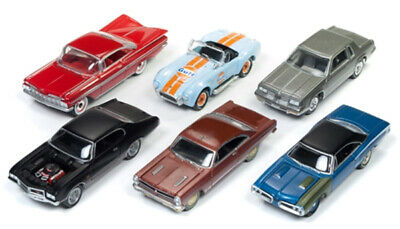 Johnny Lightning JLMC012-A-CASE 1:64 2017JL Muscle Cars Release 5A (Set of 12)