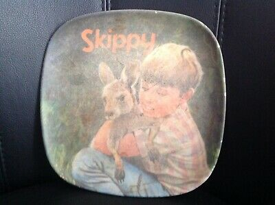 VINTAGE SKIPPY THE BUSH KANGAROO BESSEMEL ORIGINAL PLATE 1970s GC 1