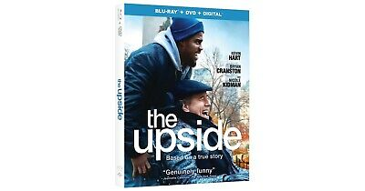 The Upside  (Blu-ray + DVD) 2019 w/ SLIP COVER