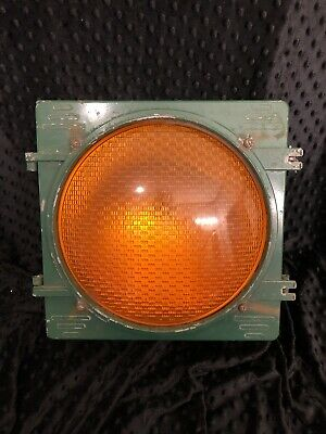 Vintage LFE TCD Automatic Signal Traffic Signal Yellow Light Preowned