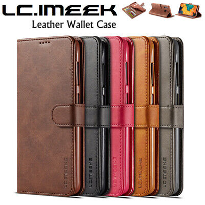 Samsung Galaxy A20 A30 A50 A70 Wallet Case Magnet Flip Leather Card Slots Cover