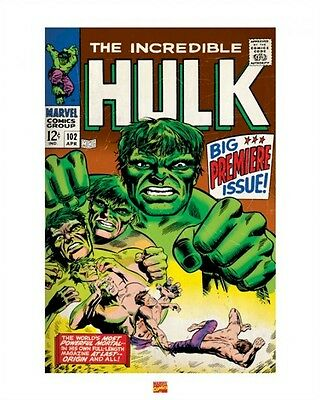 Incredible Hulk Kunst Poster ~ 102 Abdeckung 16x20 Marvel Comic Buch The Marie
