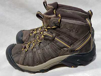 7131893bef8 KEEN MENS 11 44.5 Voyageur Mid Hiking Trail Leather Ankle Boot ...