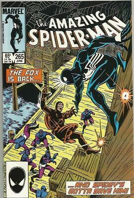 The Amazing Spider-Man #265 (June 1985) 1st Silver Sable Marvel Comics High Grde