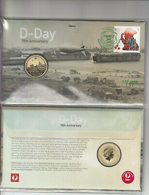 2019 D-Day $1.00 coin PNC.Issue DAY 1 Sydney Stamp & Coin EXPO.L/Edition 800.