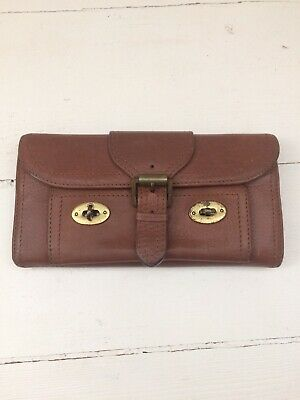 Mulberry Tan Wallet