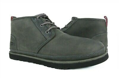 7cbc4f8fd6c UGG FOR MEN Boots Neumel Ripstop Textile / Leather Charcoal Grey US ...
