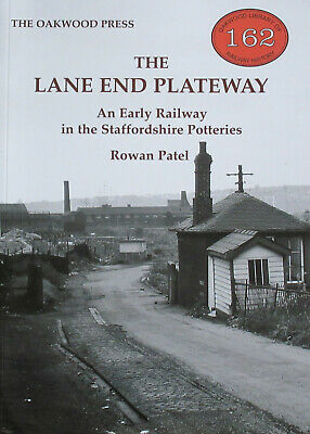 LANE END PLATEWAY Steam Railway History NEW Staffordshire Potteries Industry
