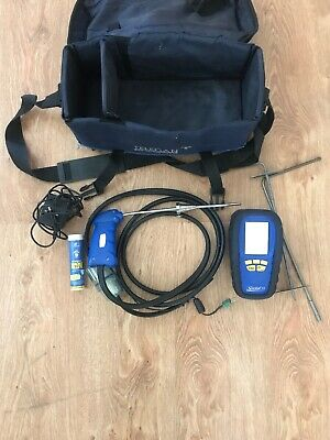 Anton Sprint V2 Kit 2 Flue Gas Analyser Calibrated Great Condition