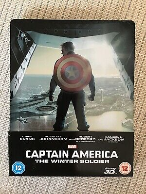 Blu-ray DVD Steelbook Captain America The Winter Soldier