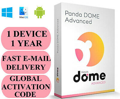 Panda Dome Advanced 1 Device / 1 Year + Free VPN GLOBAL CODE 2019 E-MAIL ONLY
