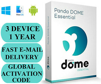 Panda Dome Essential 3 Device / 1 Year + Free VPN GLOBAL CODE 2020 E-MAIL ONLY