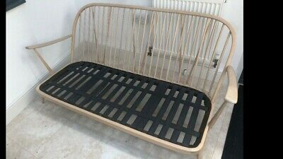 Vintage Retro Ercol Blonde 203 3 Seater Sofa frame only good condition