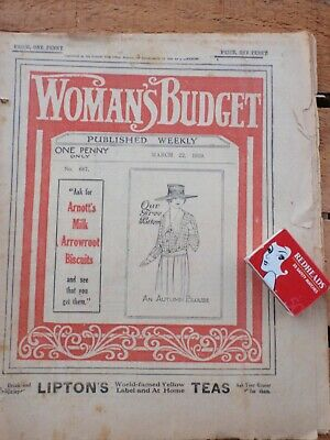 1919  Australian woman's Budget  illustrated  39 pages