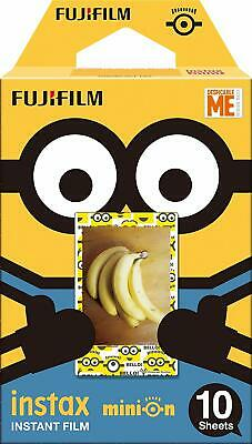 FUJIFILM film for instant camera check 10 pieces of packs pattern Minion