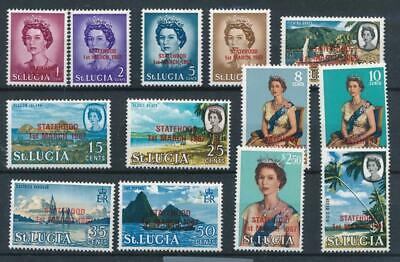 [327003] St. Lucia 1965 good set of stamps VF MNH