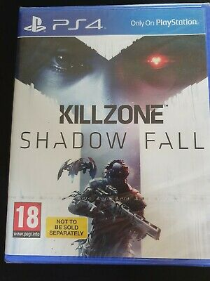 Killzone Shadow Fall PS4 Game Sealed NEW UK PAL for Sony Playstation 4 kill zone