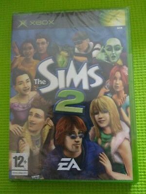 The Sims 2 XBox Game New Seal Unbroken In Original Cellophane Wrapping
