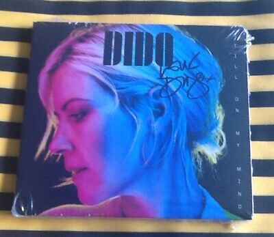 Dido Still On My Mind Hand Signed Autographed Cd Album 2019 Sealed !