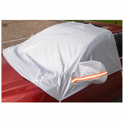 1 Pc Car Windshield Cover Half Car Protector Dustproof Cover for Automobile