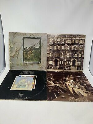 Led Zeppelin Vinyl LP's Houses of Holy The Song Remains Physical Graffiti Lot 4