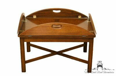 """High End Traditional Style Solid Mahogany 40"""" Butler's Coffee Table 2760-72"""