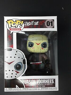 Pop Movies 01 Jason Voorhees figure Funko 022925