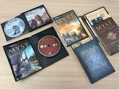 Job Lot: 3 Myst games: Myst III, IV and Collector's Edition Myst V. End of Ages