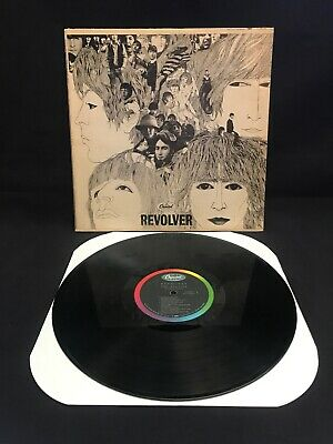 Beatles Revolver LP Mono First US Pressing Shortened Name Credits T-2576 VG/VG+