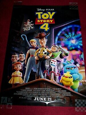 Toy Story 4 27x40 d/s full release movie poster3