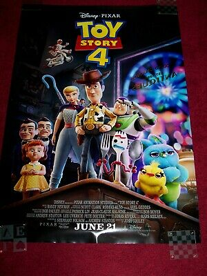 Toy Story 4 27x40 d/s full release movie poster4