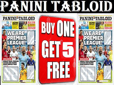 Panini Tabloid Sticker Collection ☆ Single Stickers ☆ Buy 1 Get 5 Free ☆