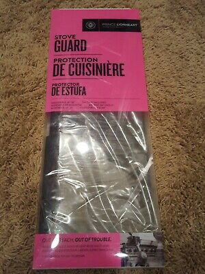 Prince Lionheart Shield-A-Burn Adjustable Stovetop Oven Stove Guard - NEW