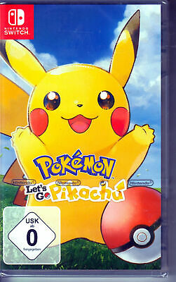 Nintendo Switch Pokémon Let´s Go, Pikachu - NEU + OVP in Folie