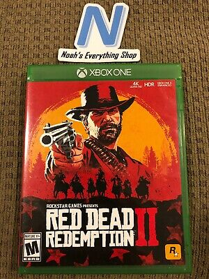 Red Dead Redemption 2 - Xbox One, (Xbox One) TESTED PRE-OWNED