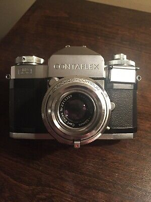 CARL ZEISS CONTAFLEX Camera w/ Tessa 2 8/50mm Lens With