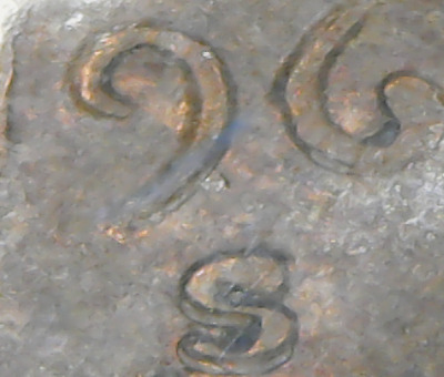 1969-S/S  Lincoln Cent -    ===Double Die Obverse===  Date - Mint Mark & Liberty