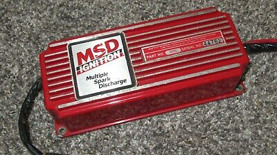msd 6a ignition box 6200 multiple spark discharge camaro mustang civic  type-r