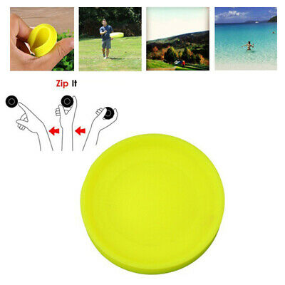 Zip Mini Chip Pocket Flexi Soft Flying Disk Catch Game Beach Outdoor Toys aco