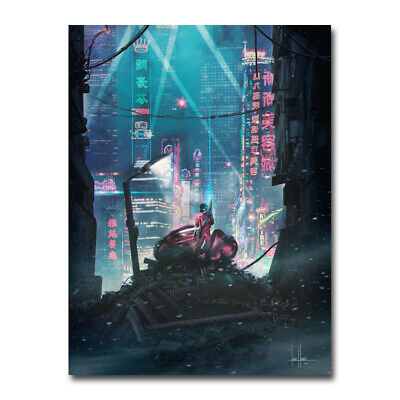 Akira Red Fighting Hot Japan Anime 2019 Movie Silk Canvas Poster Print 24x32 4 49 Picclick