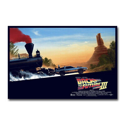 New Back to the Future 1 2 3 Amazing Movie Custom Poster Print Art Decor T-785