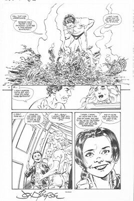 BABE # 2 Pg. 19 by JOHN BYRNE! SIGNED!! BABE IN DISTRESS!!! INCREDIBLE DETAIL!!!