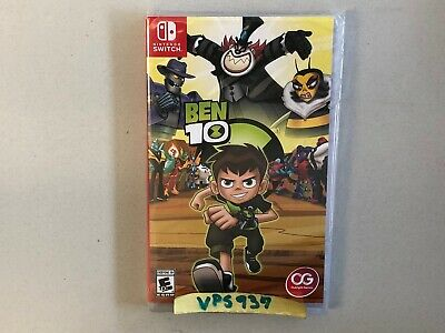Ben 10 (Nintendo Switch) BRAND NEW FACTORY SEALED!!!!!!!!!!!!!!!!!!!!!!!!!!!!!!!