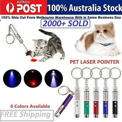Cat Toys Laser Pointer Cat Laser Toy Pen Catch the LED Light Interactive 4 Color