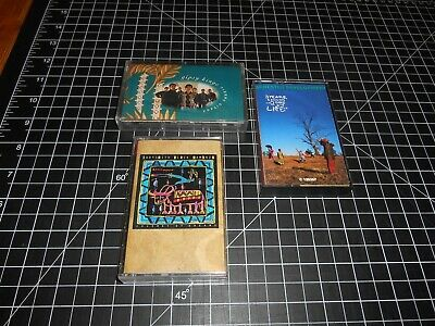 3 Rare Classic International Artists On Vintage Cassette Audio Tapes