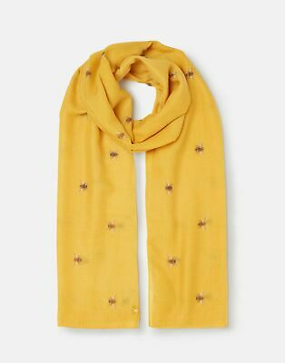 Joules 207390 Lightweight Scarf in GOLD BEE in One Size