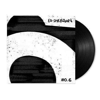 Ed Sheeran No. 6 Collaborations Project New Sealed Vinyl Lp In Stock