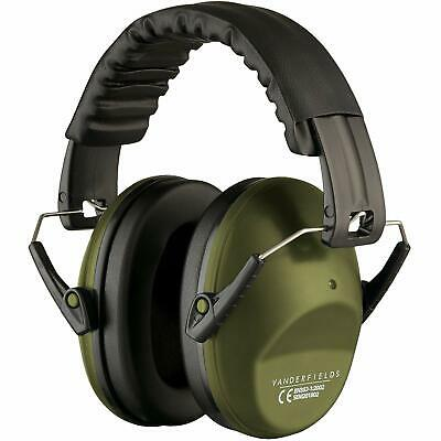 Ear Defenders Headphones 125Db Highest NRR Safety Muffs Shooting Protector Green